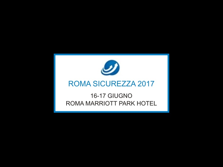 Product | ROMA SICUREZZA 2017